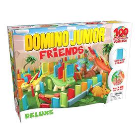 Pressman Toys: Domino Junior Friends - Deluxe - English Edition