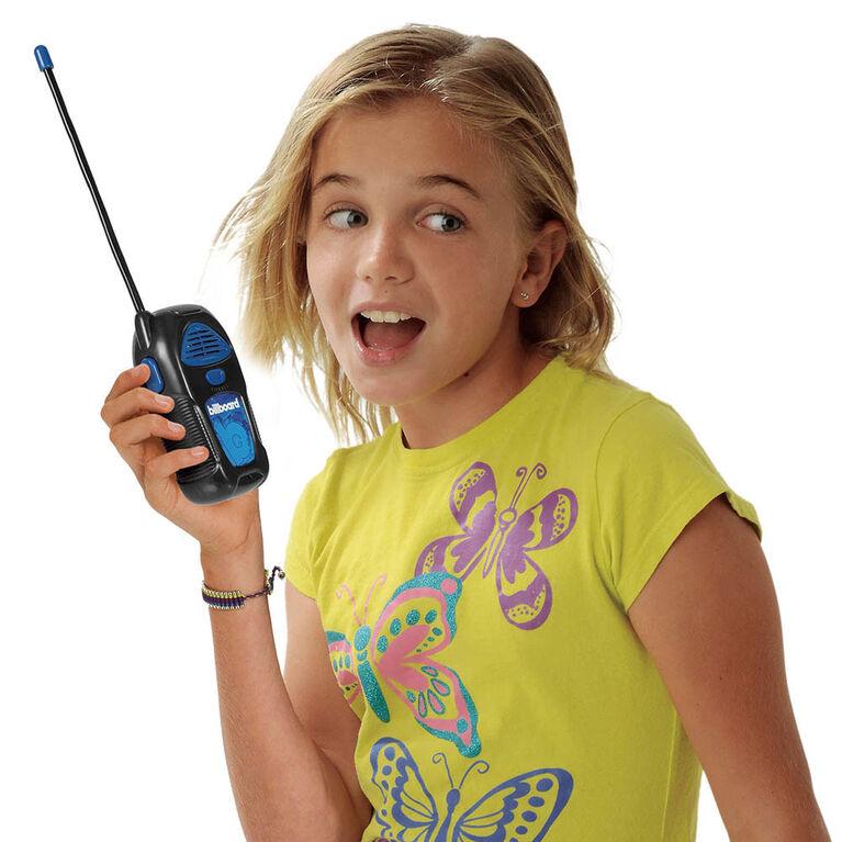 Billboard Talkies-walkies à longue portée.