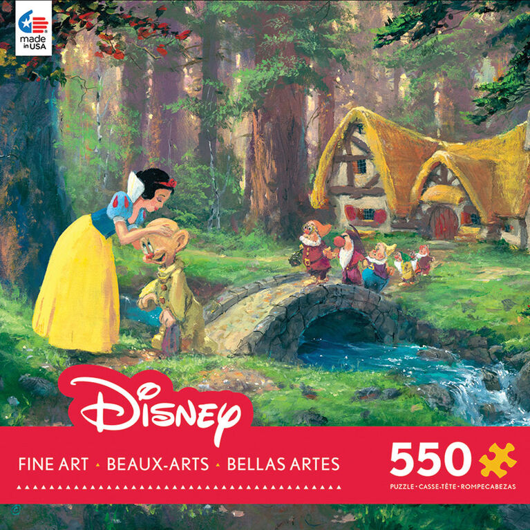 Disney Fine Art 550 Pieces Puzzle - A Sweet Goodbye