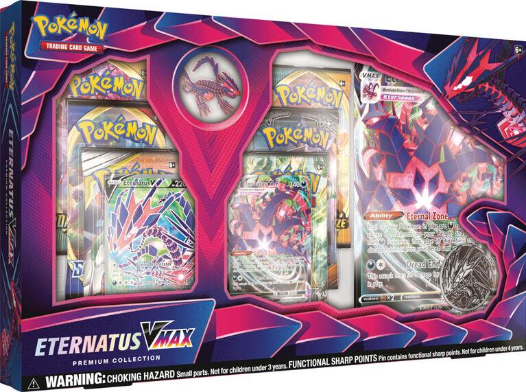 Collection Premium Éthernatos VMAX Pokémon