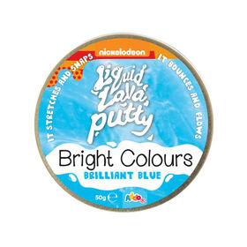 Nickelodeon Liquid Lava Putty Bright Colours Brilliant Blue - R Exclusive