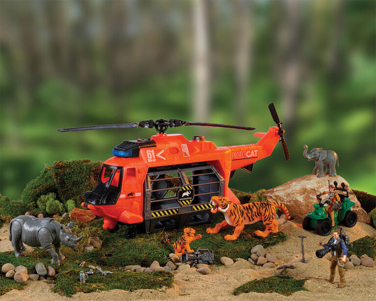 Animal Planet - Project c.a.t-Helicopter Rescue - R Exclusive