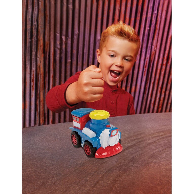 Little Tikes Slammin' Racers Runaway Railroad Set and Train with Sounds
