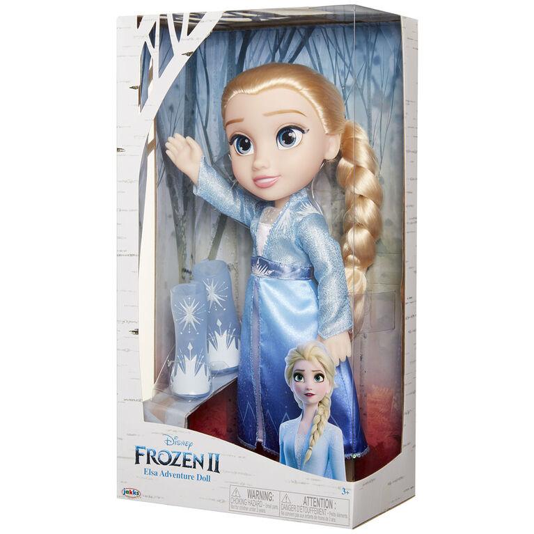 Frozen II Elsa Travel Doll