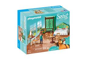 Playmobil - Spirit Chambre de Lucky (9476)