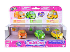 Cutie Cars Shopkins S1 3 Pack - Styles May Vary