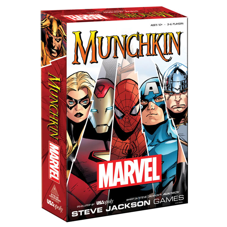 Munchkin Game Marvel Edition