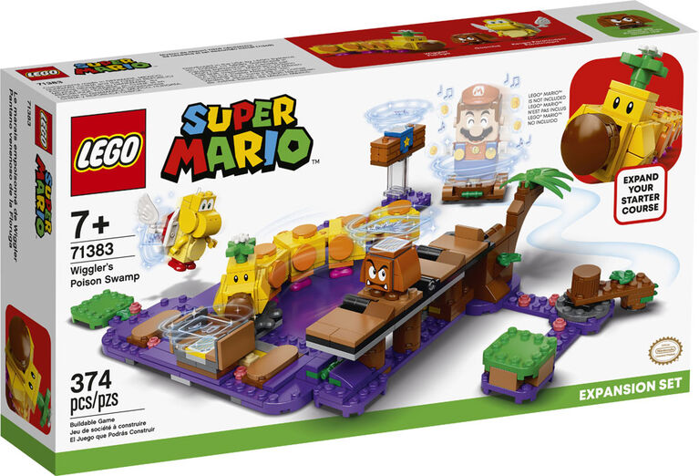 LEGO Super Mario Ensemble d'extension Le marais empoisonn 71383