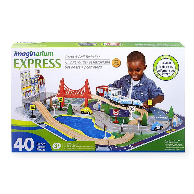 Imaginarium Road and Rail Train Set