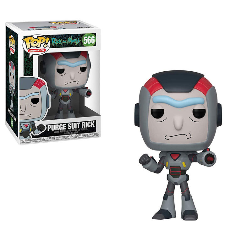 Funko POP! Animations: Rick and Morty - Purge Suit Rick Vinyl Figure