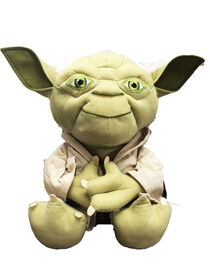 Yoda Character Pillow