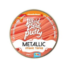 Nickelodeon Liquid Lava Putty Metallic Atomic Topaz - Notre exclusivité