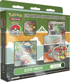 Pokemon 2016 World Championship Deck-Jesper Eriksen