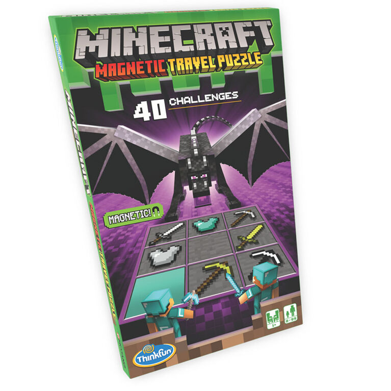 Ravensburger Minecraft Magnetic Travel Puzzle - version anglaise