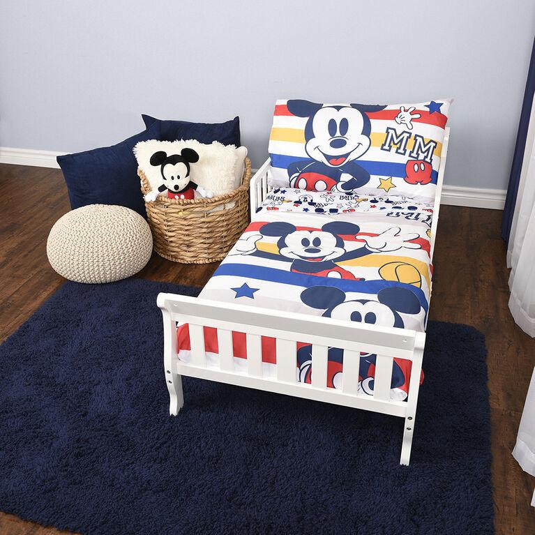 Disney Mickey Mouse 3-Piece Toddler Bedding Set