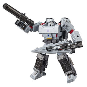 Transformers Generations War for Cybertron: Siege Voyager Class Megatron Action Figure