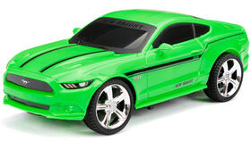 New Bright - 1:24 Scale Radio Control Sports Car - Ford Mustang - Green