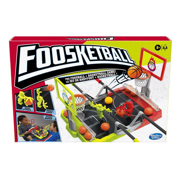 Foosketball Game, The Foosball Plus Basketball Tabletop Game for Kids
