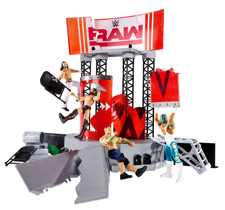 WWE Wrekkin Entrance Stage Playset