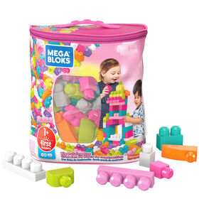 Mega Bloks Pink Big Building Bag