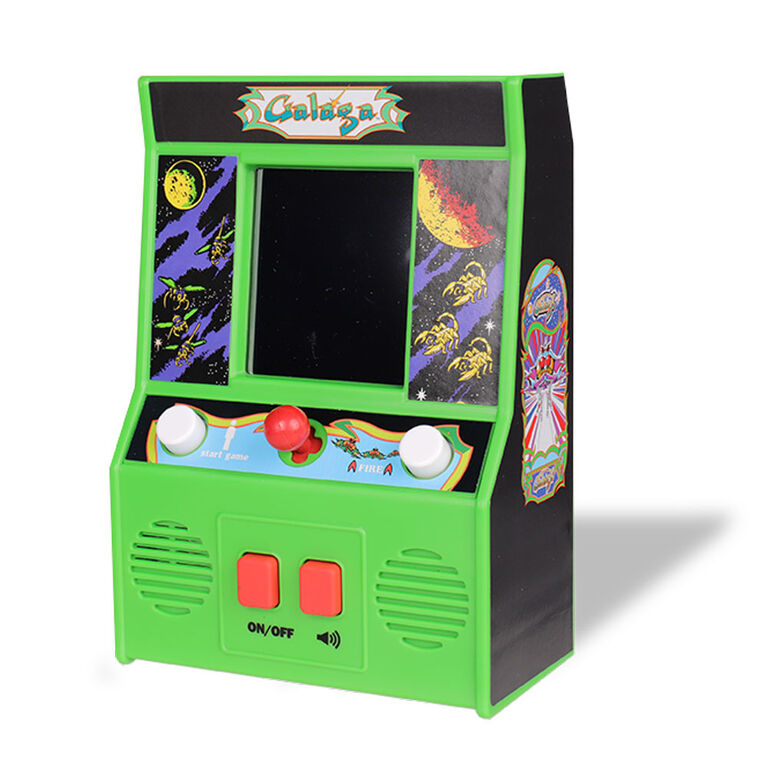 Arcade Classics - Galaga Retro Mini Arcade Game