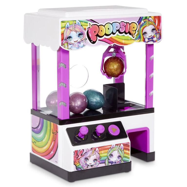 Machine à pince Poopsie avec 4 gelées et 2 Cutie Tooties