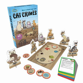 Ravensburger! Thinkfun - Cat Crimes Who's to Blame Logic Game - English Edition