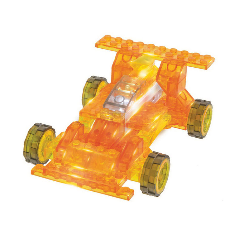 Laser Pegs Racer 4-In-1 Building Set
