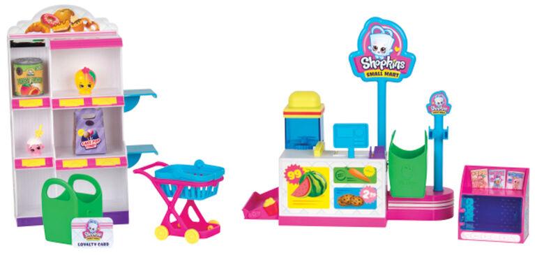 Shopkins Season 10 - Pick 'N' Pack Small Mart Playset