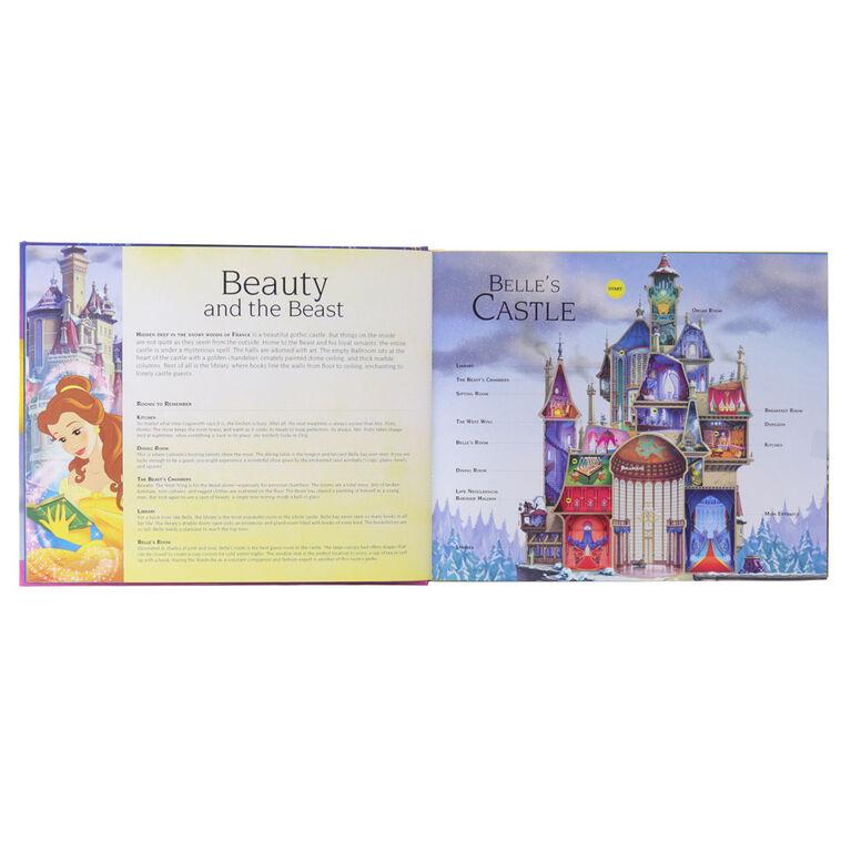 Livre Sonore: Château Des Princesses De Disney - Édition anglaise