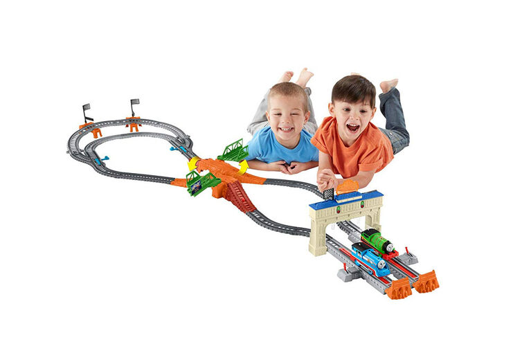 Fisher-Price Thomas & Friends TrackMaster Thomas & Percy's Railway Race Set