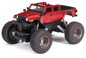 1:18 RC Heavy Metal Jeep Gladiator -Red