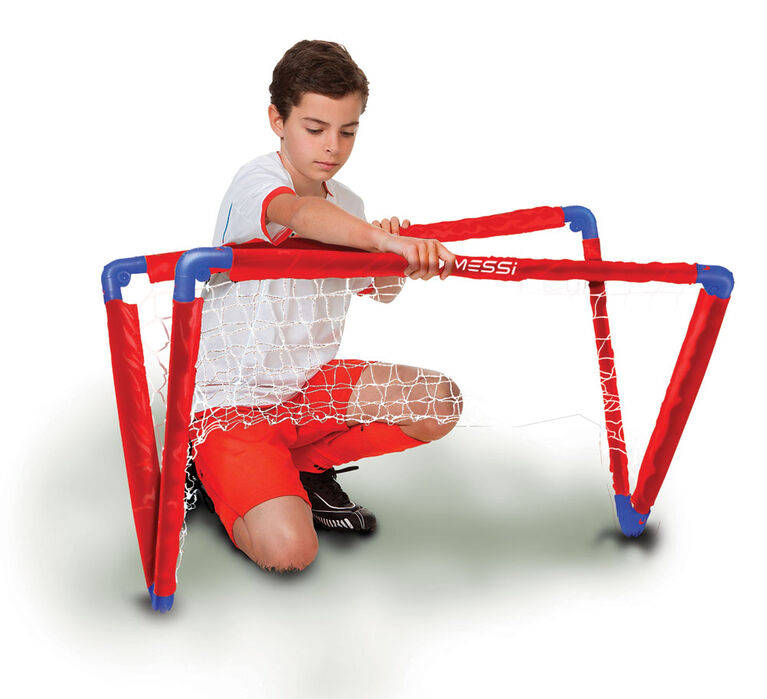 Messi Foldable Goal Large (with ball and pump)