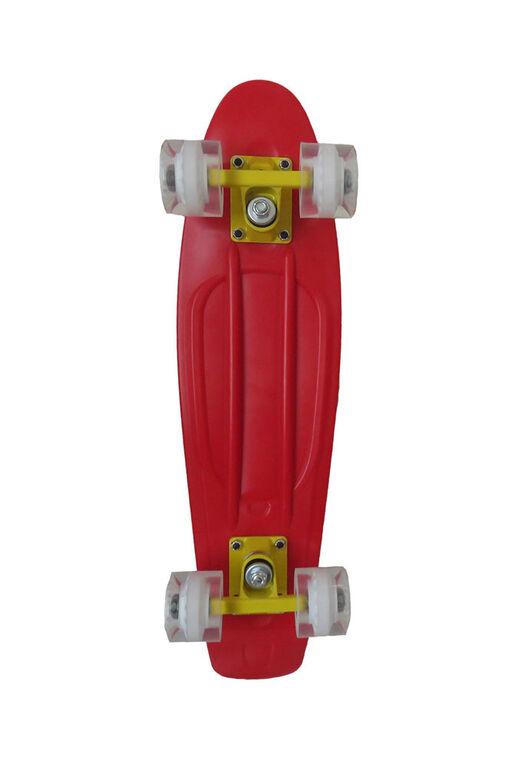 "Sport Runner 22.5"" Solids Skateboard - Red - R Exclusive"