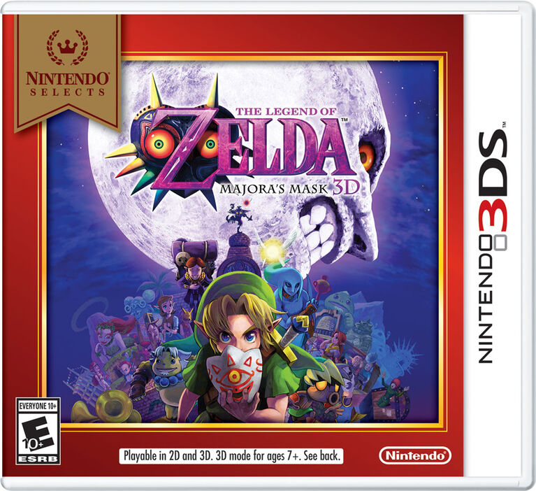 Nintendo Selects: The Legend of Zelda: Majora's Mask 3D