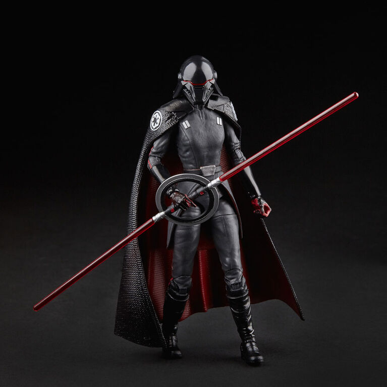 Star Wars The Black Series, figurine articulée de la Deuxième Soeur Inquisitrice de 15 cm de Star Wars Jedi : Fallen Order.