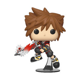 Figurine en Vinyle Sora with Shield Par Funko POP! Kingdom Hearts 3 S2