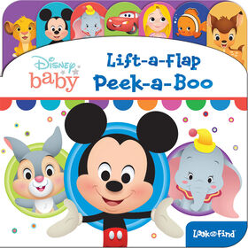 Disney Baby Lift A Flap Look And Find - Édition anglaise