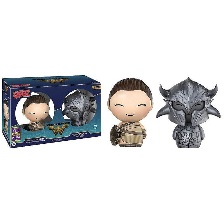 Figurine en vinyle Wonder Woman et Ares de Wonder Woman par Funko Dorbz! - Notre Exclusivité