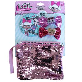 L.O.L. Surprise! Sequin Purse With Mirror & Bows