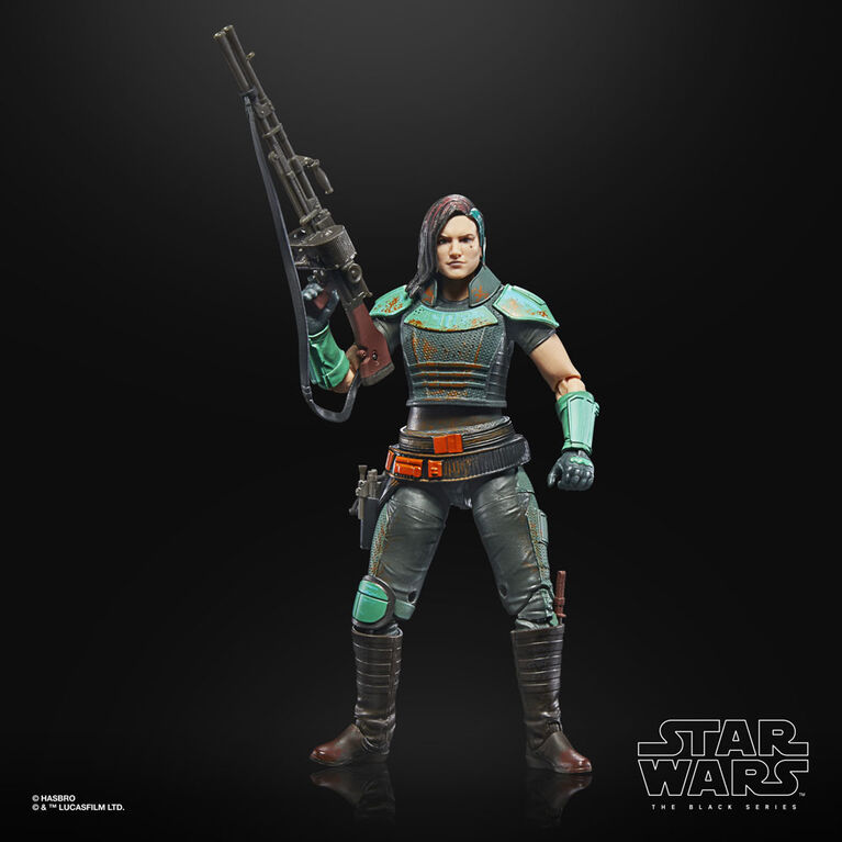 Star Wars The Black Series The Mandalorian Cara Dune Toy 6-Inch-Scale Collectible Action Figure - R Exclusive