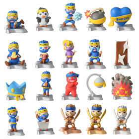 Émotes et figurines Ninja de collection de 5 cm (2 po)
