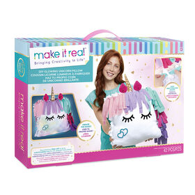 Make It Real Ensemble Coussin Licorne Lumineuse
