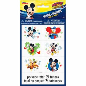 Mickey Color Tattoo Sheets 4 pieces