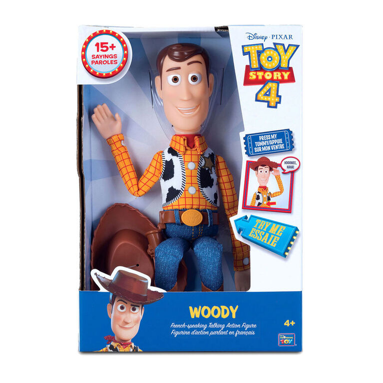 Toy Story Sheriff Woody Action Figure - French Speaking Toy