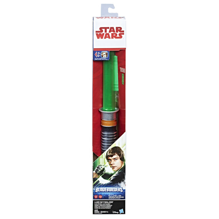 Star Wars: Return of the Jedi Bladebuilders Luke Skywalker Electronic Lightsaber