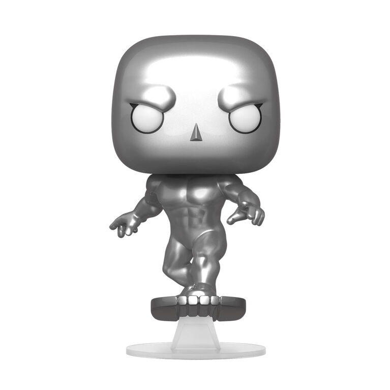 Figurine en Vinyle Silver Surfer Par Funko POP! Marvel Comics Fantastic Four