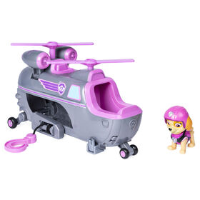 Paw Patrol Ultimate Rescue - Skye's Ultimate Rescue Helicopter with Moving Propellers and Rescue Hook