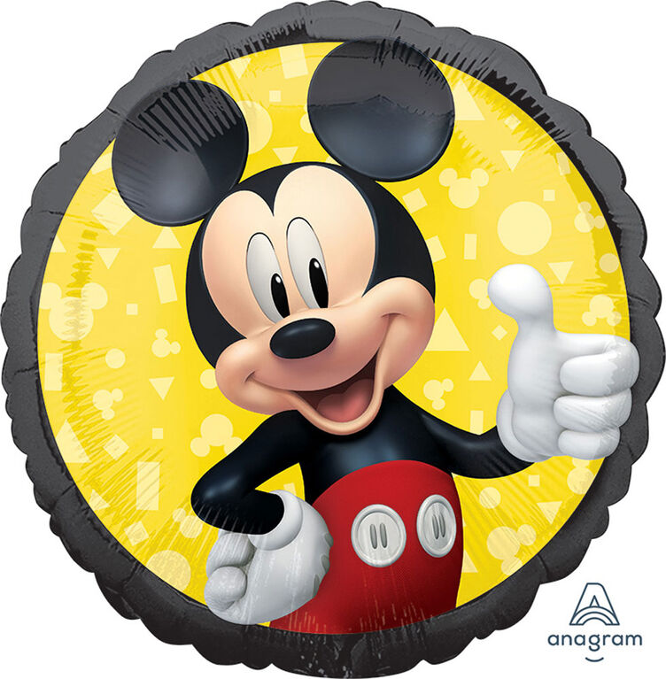 """Mickey Mouse Standard 18"""" Foil Balloon"""