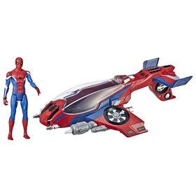 Spider-Man: Far From Home Spider-Jet with Spider-Man